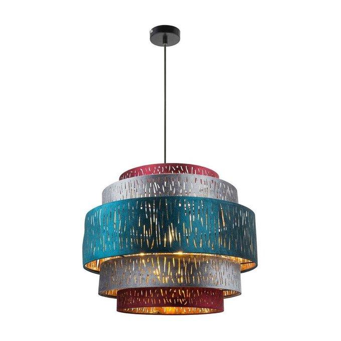 Подвесной светильник Ticon с разноцветным плафоном
