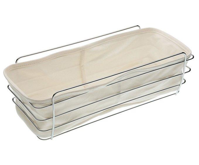 Металлическая корзинка для хлеба