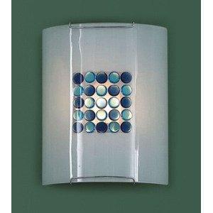 Накладной светильник Синее Голубое Конфетти
