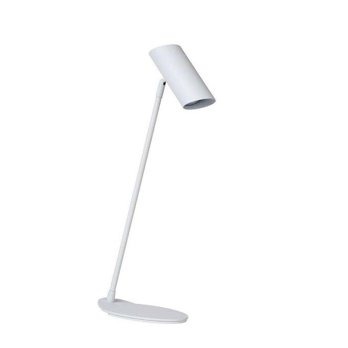 Настольная лампа Hester белого цвета