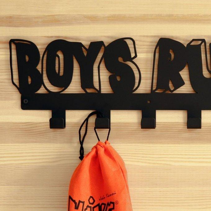 "Вешалка ""BOYS RULE"""
