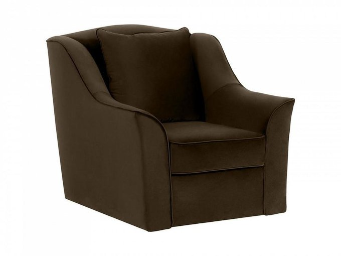 Кресло Vermont темно-коричневого цвета
