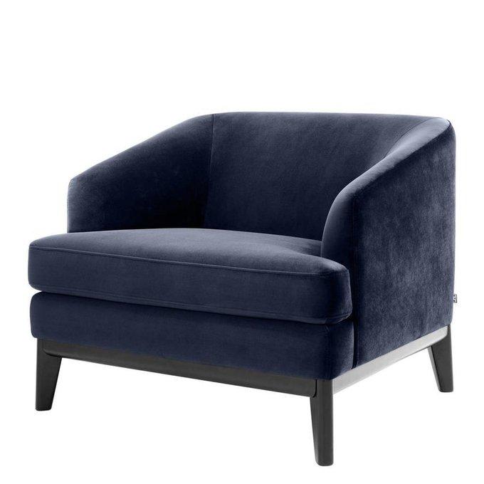 Кресло Monterey темно-синего цвета