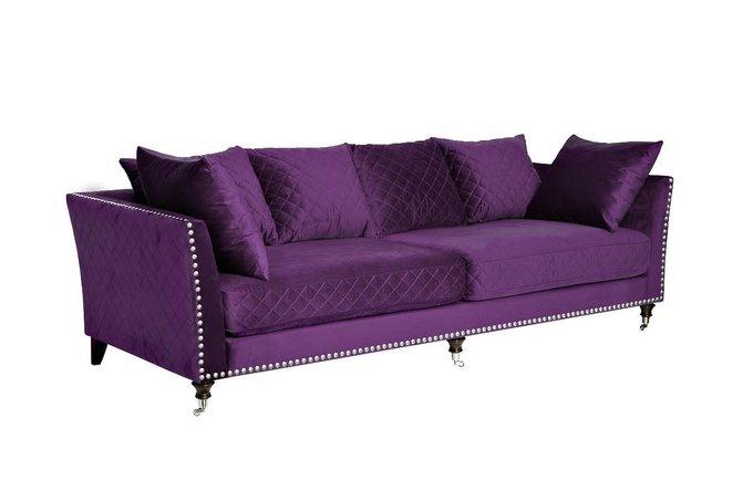 Диван трехместный Sorrento фиолетового цвета