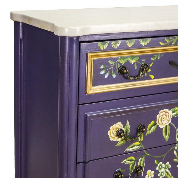 Комод Florentina с росписью из цветов