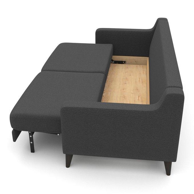 Диван-кровать Mendini EKH (208 см ) темно-серого цвета