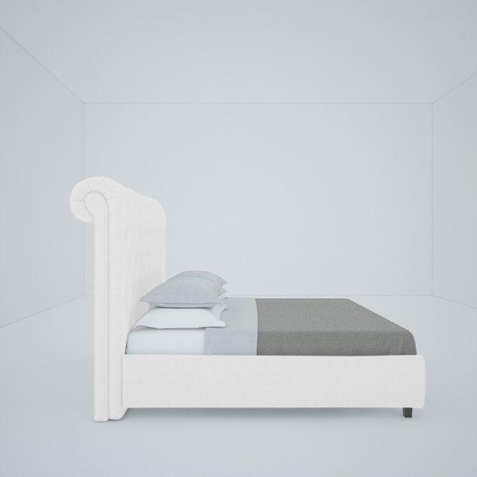Кровать Sweet Dreams Велюр Молочный 200х200