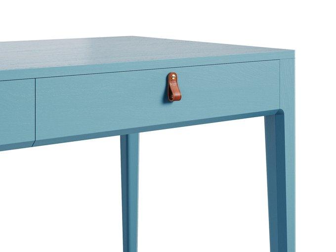 Рабочий стол Case голубого цвета
