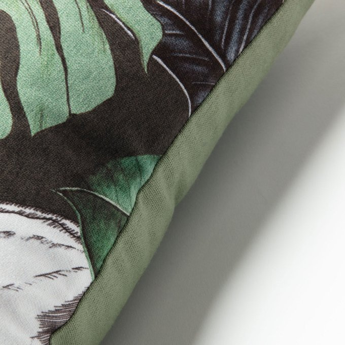 Чехол для подушки Anele с тропическим принтом 45x45