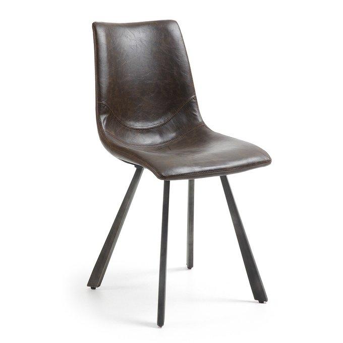 Обеденный стул Julia Grup TRAC темно-коричневого цвета
