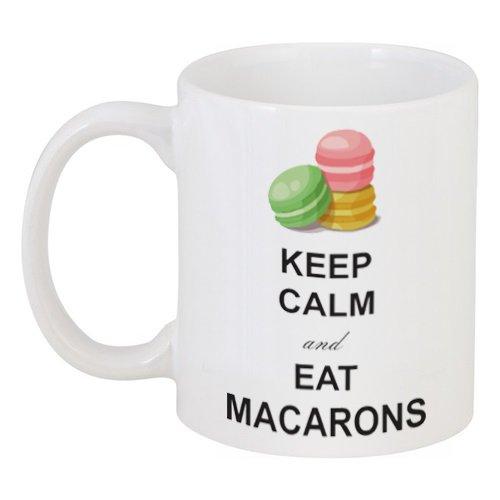Кружка керамическая Macarons с рисунком