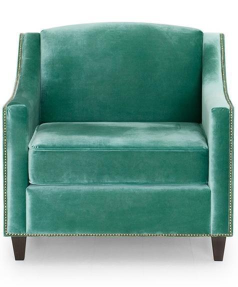 Кресло Рокфорд дизайн 6 зеленого цвета