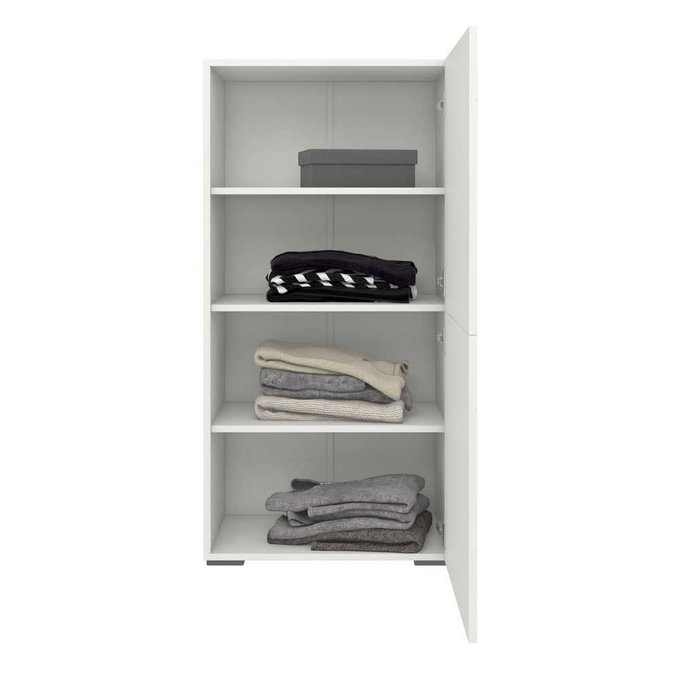 Шкаф распашной Селеста белого цвета