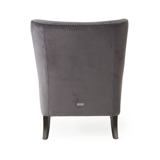 Кресло Dallas темно-серого цвета