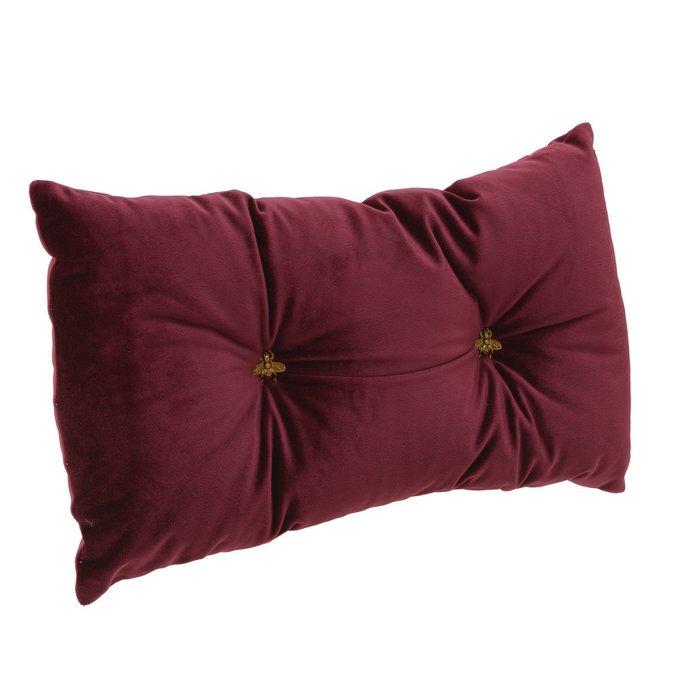 Декоративная подушка прямоугольной формы