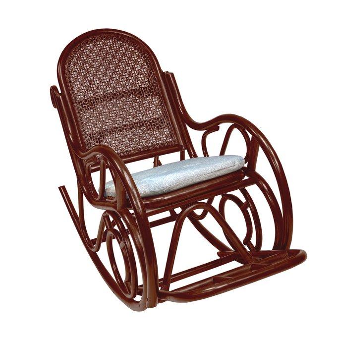 Кресло-качалка Moscow коньяк