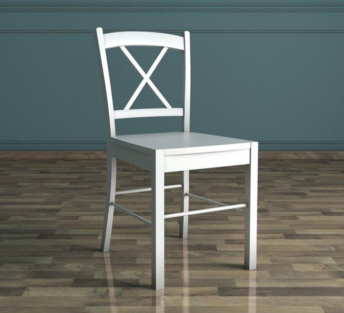 Кухонный стул Palermo белого цвета