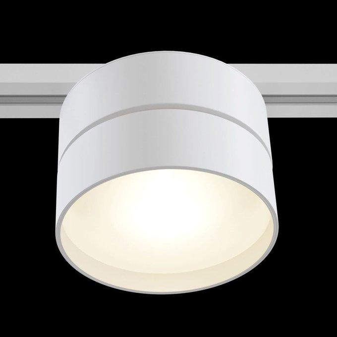Трековый светодиодный светильник Track lamps белого цвета