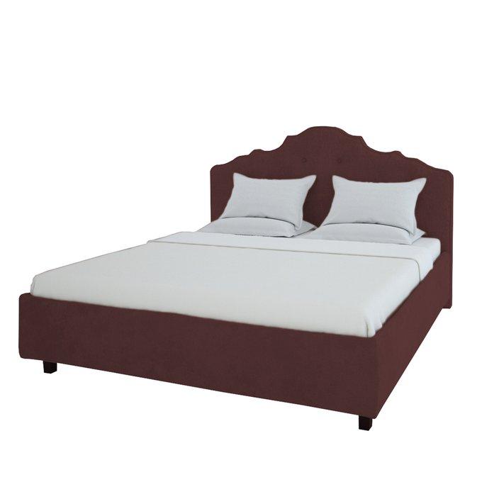 Кровать Palace Велюр Коричневый 180x200