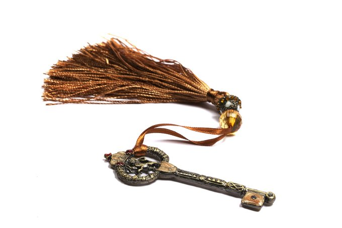 Подхват для штор Key with Tassel Brown