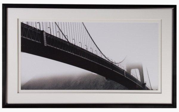 "Постер с паспарту в раме ""Golden Gate Bridge"""
