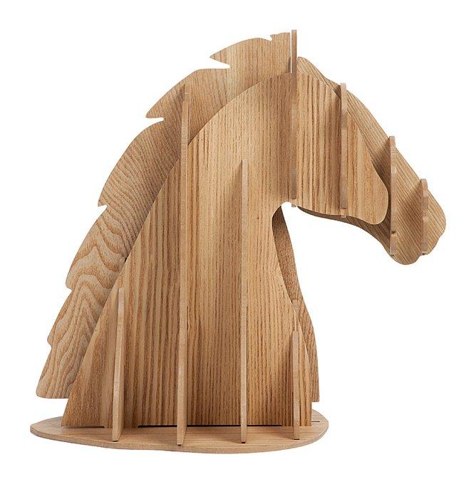 Декоративная голова лошади Vixen Brown