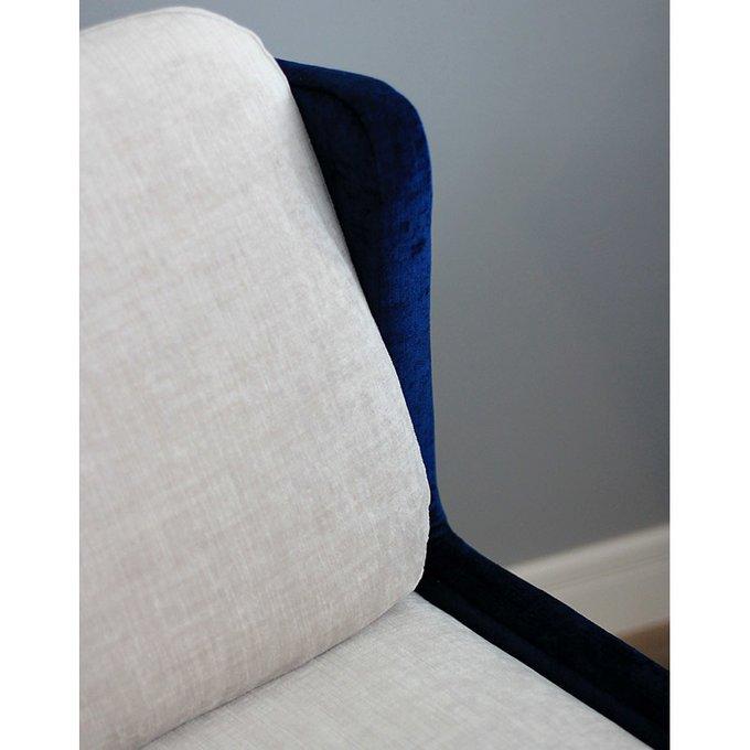 Кресло Cube с ножками из шпона ореха