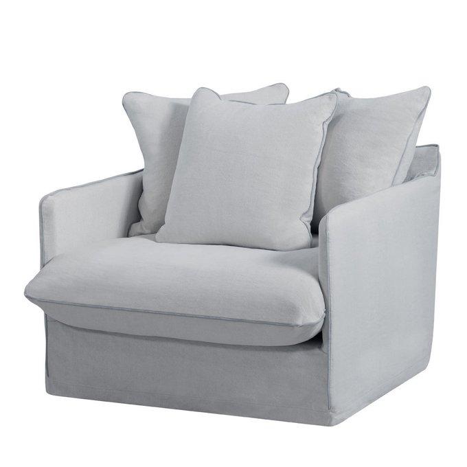 Кресло Sofia светло-серого цвета