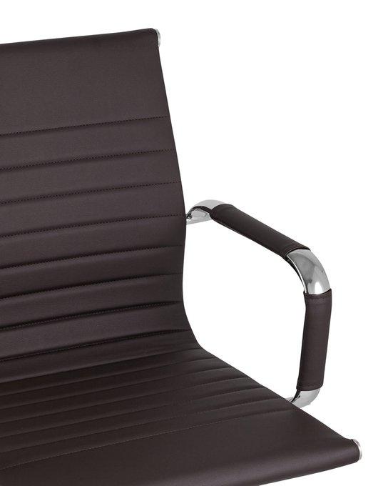 Кресло офисное Top Chairs City S теммно-коричневого цвета
