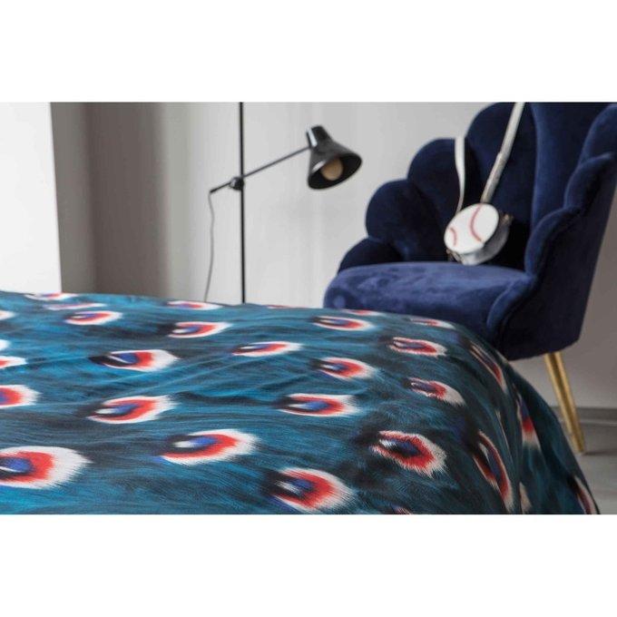 Комплект постельного белья Перья павлина 200х220