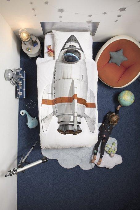 Комплект постельного белья Ракета