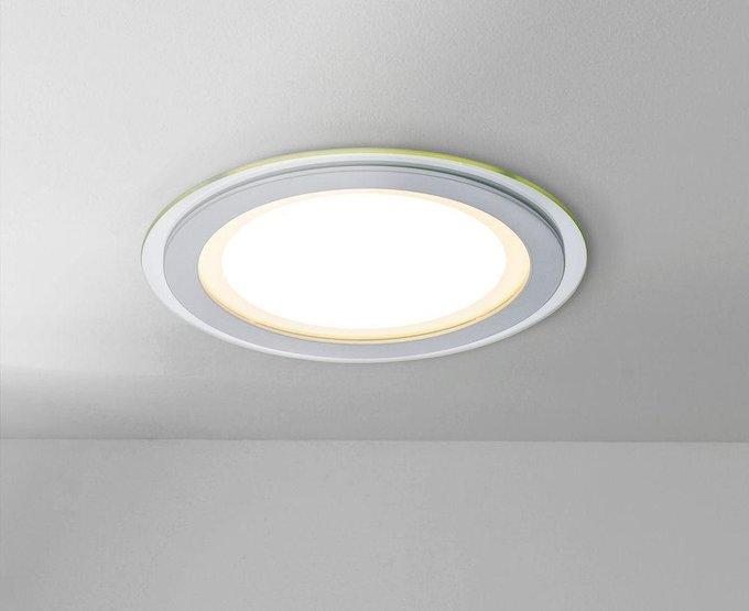 Встраиваемый светодиодный светильник Han из металла и пластика