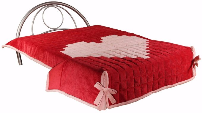 Диван-кровать детский Верона красного цвета