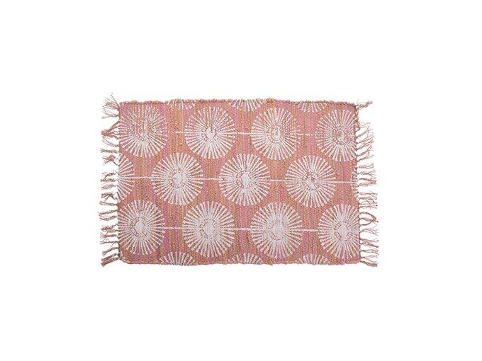 Коврик Aloha розового цвета 60х90