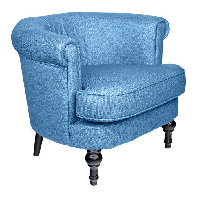 Кресло Charlotte Bronte Светло-синего цвета