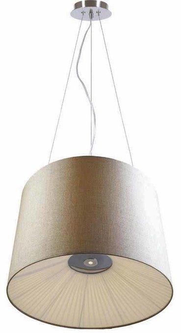 Подвесной светильник Cupola с бежевым абажуром