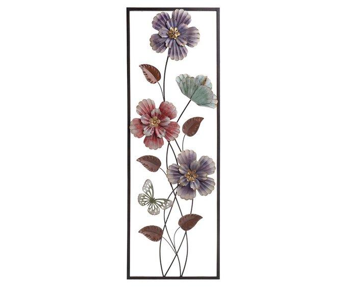 Панно настенное с цветами