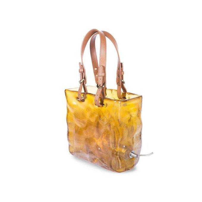 Настольная лампа Fashionery желтого цвета