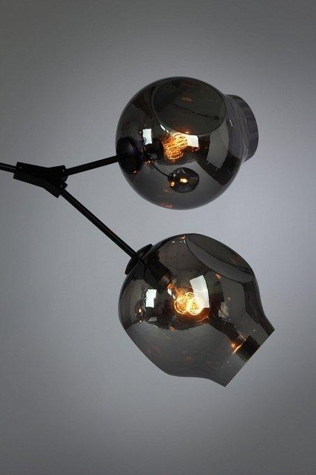 Подвесной светильник со стеклянными плафонами