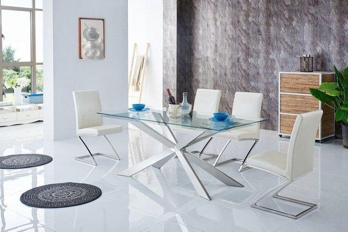 Обеденный стол M на металлическом каркасе