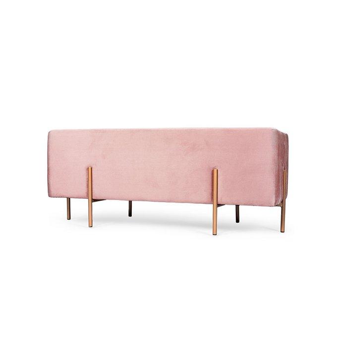 Банкетка Amy розового цвета