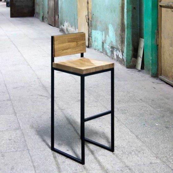 "Барный стул ""fullmoon oak"""