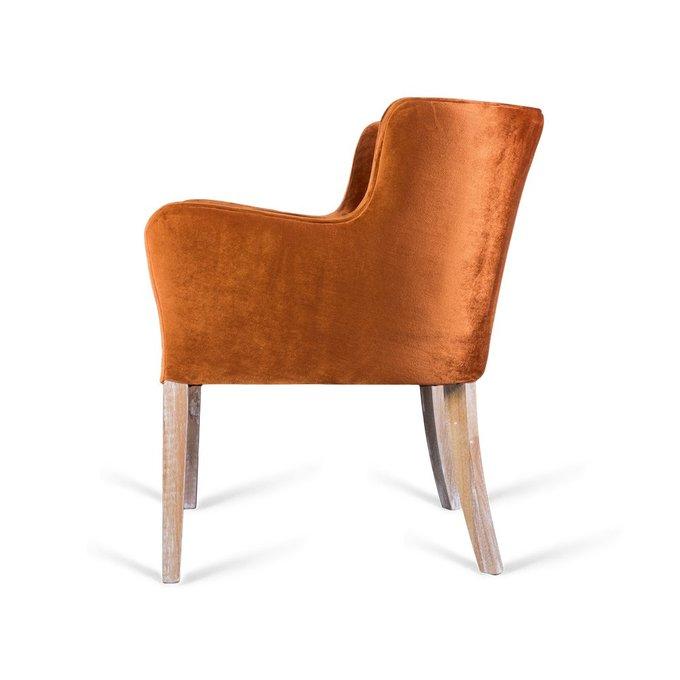 Полукресло Sidereal оранжевого цвета