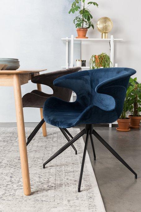 Кресло Mia темно-серого цвета