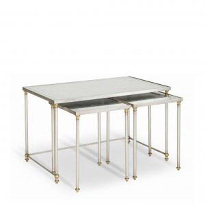 Гарнитур из 3 коктейльных столов SHELBY NESTING COCKTAIL TABLES-SET OF 3