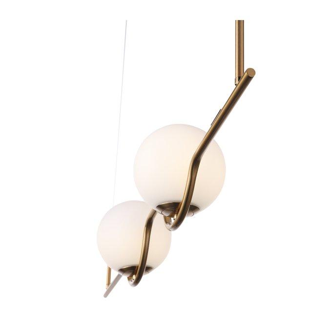 Подвесной светильник Forcio с белыми плафонами