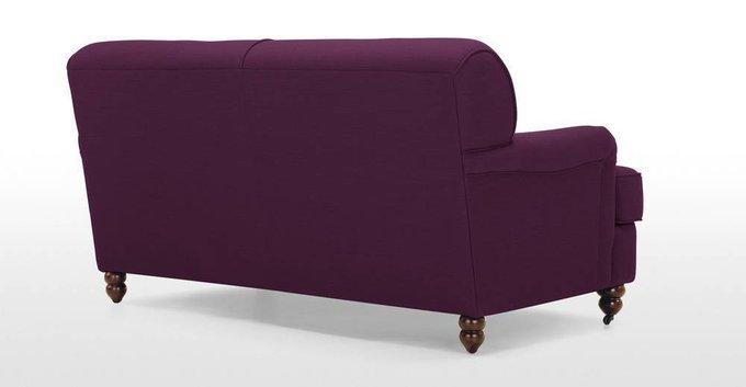 Диван Orson двухместный пурпурного цвета