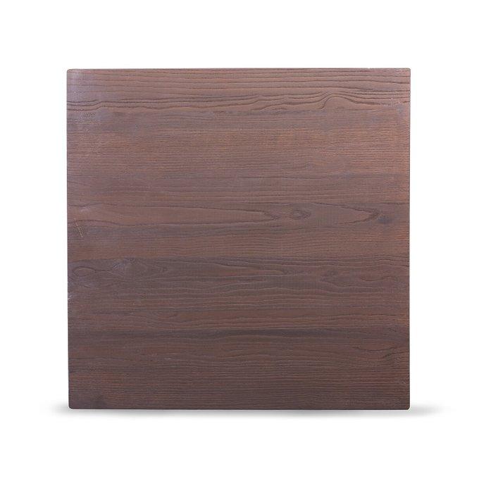 Стол Tolix с деревянной столешницей