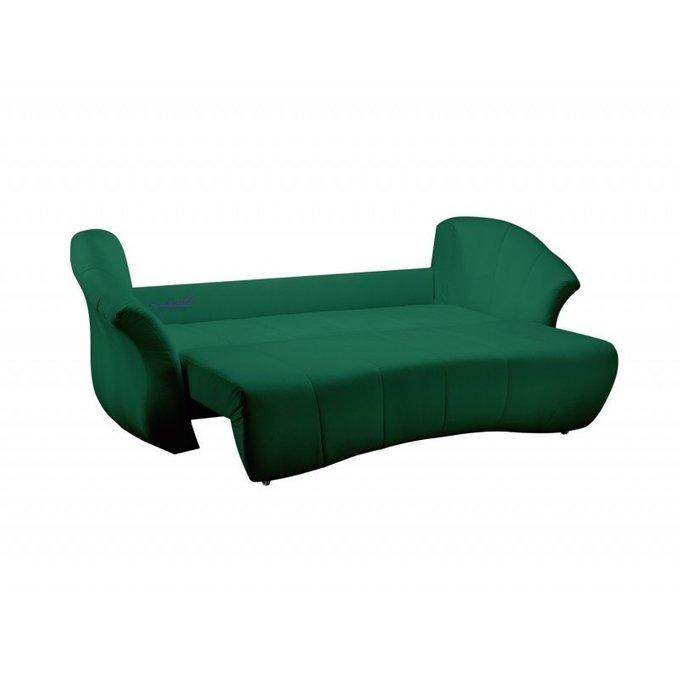 Диван раскладной Пасадена зеленого цвета