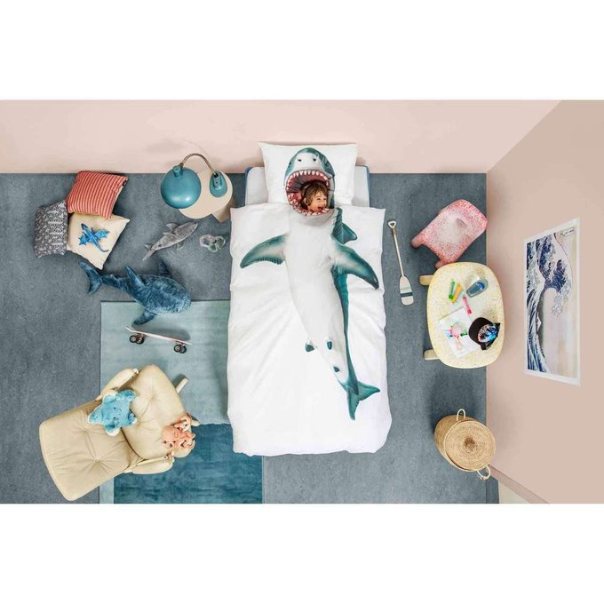 Комплект постельного белья Акула